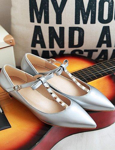 casual punta eu37 5 Toe zapatos cn37 rosa plata oro carrera de tacón vestido mujer us6 golden oficina cerrado Flats Toe uk4 5 de y PDX 5 bajo 7 4YZxqawgyz