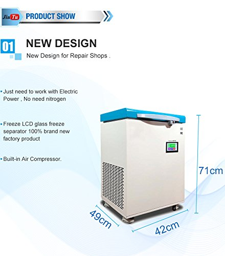 LCD Frozen Machine LCD Separator Freezer Machine Touch Screen Freezing Separator For S6 Edge S7 Edge LCD Repair - - Amazon.com