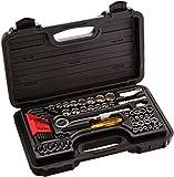 proto tool set - Blackhawk By Proto 9753-B 65-Piece Drive Socket Set Containing 1/4, 3/8-Inch Sockets
