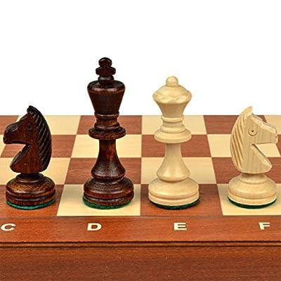 "Tournament No. 3 Staunton Chess Set - 13.6"""
