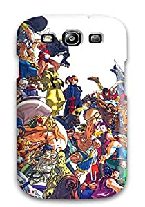 Fashionable Premium Tpu Case Cover For Galaxy S3 - Street Fighter