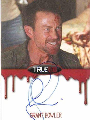 2012 True Blood Premiere Autograph card Grant Bowler as Cooter