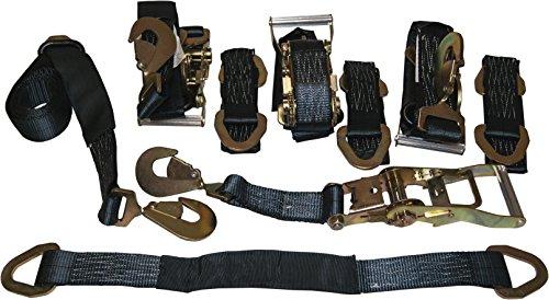(4 Axle Strap Tie Downs 24