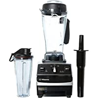Vitamix TurboBlend 3-Speed Blender with 64oz Container and 20oz to-go Cup (Platinum)