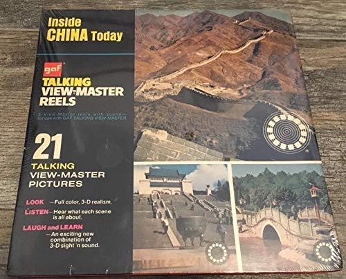 View Master Inside China Today Vintage GAF Talking