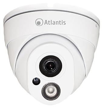 Atlantis Land A11-820A-DP - Cámara de vigilancia (Cámara de Seguridad IP, Interior, Almohadilla, Blanco, Techo, IP65): Amazon.es: Electrónica