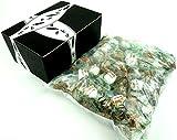 Béghin Say La Perruche Individually Wrapped Rough Cut Brown & White Sugar Cubes, 2 lb Bag in a Gift Box