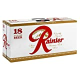 Rainier, 18 pk, 12 oz Cans, 4.6% ABV