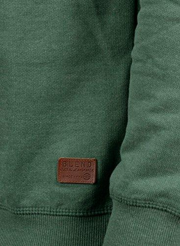 Blend 77223 Green Da Fodera Uomo Con Pullover Girocollo Alex Felpa Maglione Pile In Dark rw7Onx1rBq
