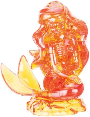 42 Piece Crystal 3D Puzzle Gallery Little Mermaid Ariel Japan