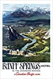 Canadian Pacific, Banff in the Canadian Rockies Print Poster