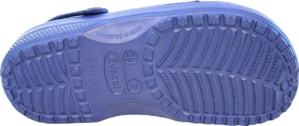 d6d08c70a8036 Amazon.com: Evacol Unisex Nursing Clogs Ultralite Nurse Shoes ...