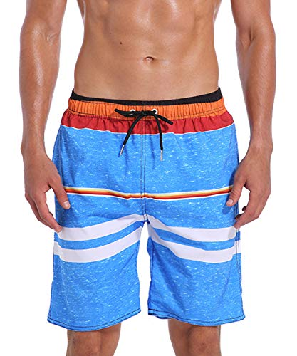 Milankerr Men's Swim Trunk Board Shorts (XL(42
