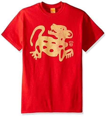 Nickelodeon Men's Legends of The Hidden Temple Red Jaguars T-Shirt, Small -