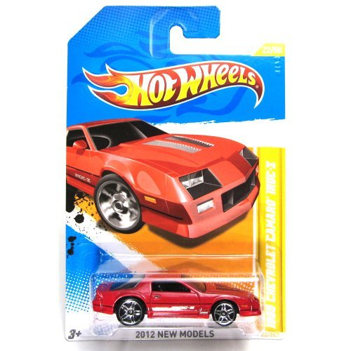 Hot Wheels 2012 New Models 1985 Chevrolet Camaro IROC-Z 22 of 50 Red