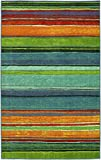 Mohawk Home New Wave Rainbow Multi Rug, 10' x 10'