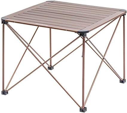 DX Tavolo da Campeggio Tavolo da Pranzo Multifunzionale da Campeggio Portatile e Pieghevole Lega di Alluminio Adatto per Cena in Famiglia e Viaggi allaperto