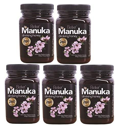 Miel de Manuka certificada de Nueva Zelanda, MG 260 ...