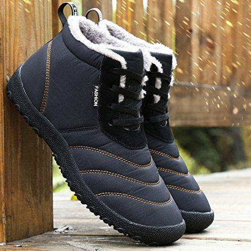 Dreamcity Men S Winter Snow Boots Waterproof Insulated Outdoor Shoes