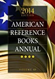 American Reference Books Annual, , 1610695488