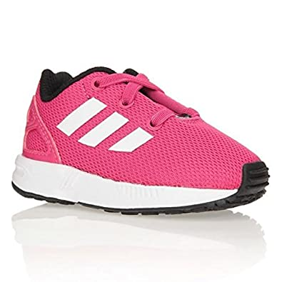adidas Originals Sneaker ZX Flux EL Baby Girl s Shoe 22 White Size  7.5 UK bc321d048