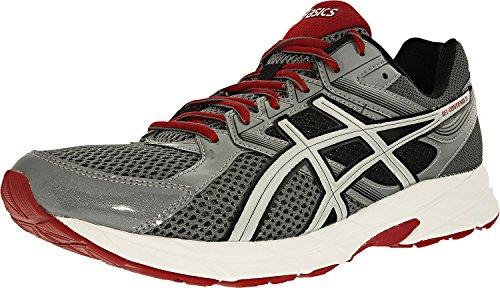 Asics+Men%27s+Gel-Contend+3+Titanium%2FSilver%2FRed+Ankle-High+Running+Shoe+-+12M