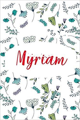 Myriam: ⭐ Carnet