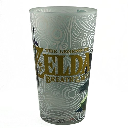 16oz Nintendo OFFICIAL Legend of Zelda: Link with Blue Champion's Tunic PREMIUM Pint Glass GIFT
