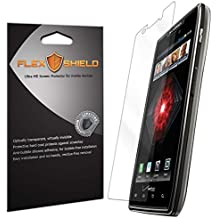 Motorola Droid RAZR MAXX HD Screen Protector [5-Pack][XT926M], Flex Shield - Ultra Clear Japanese PET Film with Lifetime Warranty - Bubble-Free HD Clarity with Anti-Fingerprint & Scratch Resistance