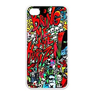 Bring Me The Horizon Merchandise Series Back Case for Iphone 4 And 4s TPU