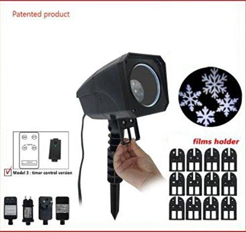 Decoración de Navidad - Proyector de Navidad de fachada LED ...