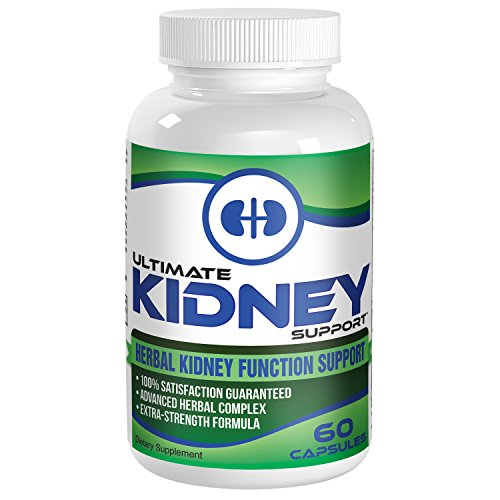 Ultimate Kidney Health Support Supplement - Complex - Cleanse - Supplements - Pills - 60 Capsules