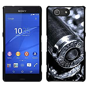LECELL--Funda protectora / Cubierta / Piel For Sony Xperia Z3 Compact -- Bullet --