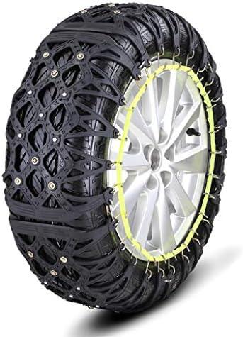非金属タイヤチェーン 車のスノーチェーン車SUV雪緊急タイヤスノーチェーン簡単にインストール タイヤチェーン 軽自動車 (Size : 215=R15)