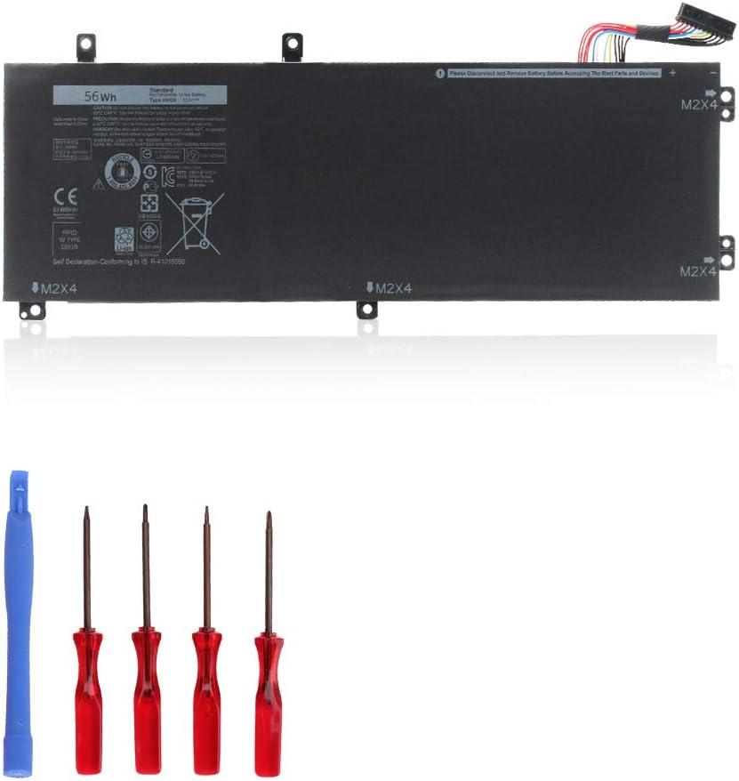 OUSIDE H5H20 Laptop Battery Compatible with XPS 15 9560, Precision 5520/ M5520/ 62MJV/ M7R96 Series Quality