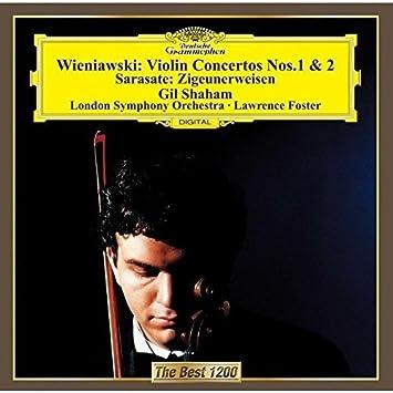 サラサーテ:ツィゴイネルワイゼン/ヴィエニャフスキ:ヴァイオリン協奏曲集