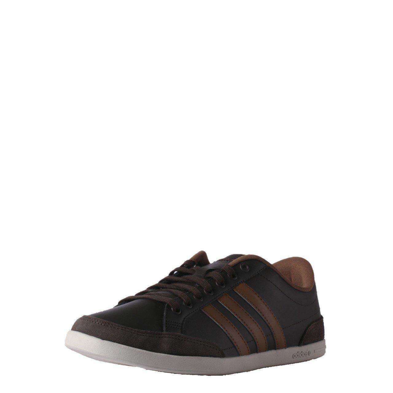 później sprzedaż usa online tanie trampki Adidas NEO Men Brown Cacity Leather Sneakers (7 UK): Buy ...