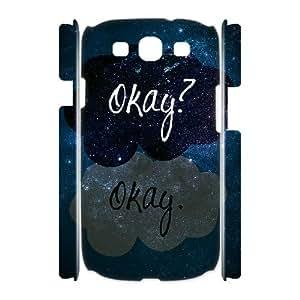 C-QUE Okay Okay Customized Hard 3D Case For Samsung Galaxy S3 I9300
