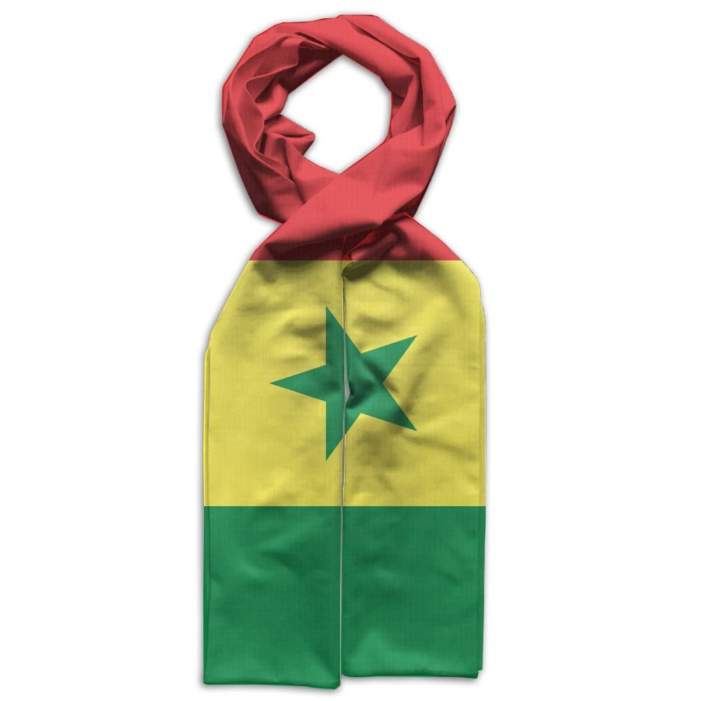 Kid's Senegal Flag Fashion Polyester Infinity Scarf Wrap Scarf- Infinity Scarves, Travel Scarf, Best Deals Last Minute Gift Ideas For Kids