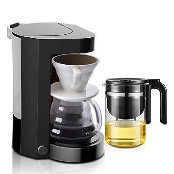 KTM Moler casa Americana cafetera pequeños aparatos máquina automática de té de Mano Goteo máquina de café,Black: Amazon.es: Hogar