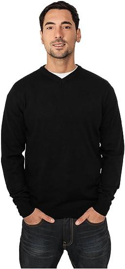 Urban Classics Knitted Cardigan Streetwear Maglietta Uomo Camicia