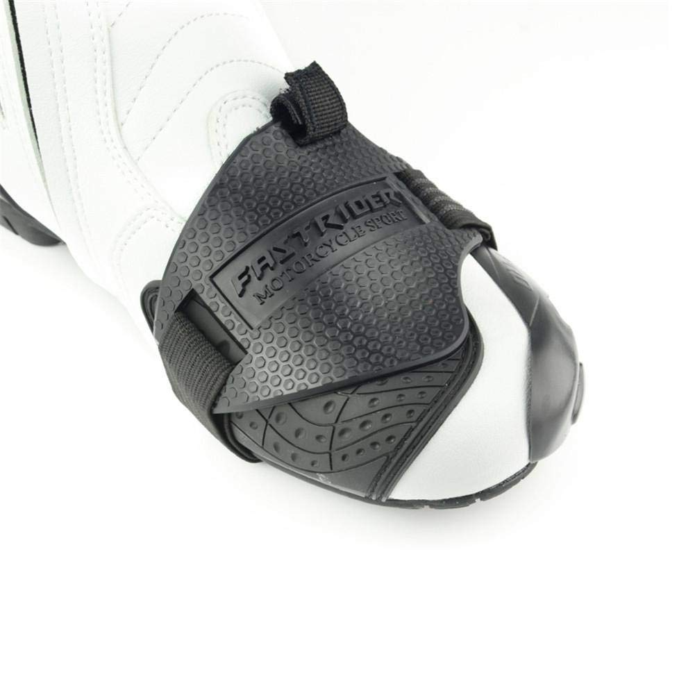 iBellete Moto Shift Pad Chaussure Botte Couverture Vitesse Shifter Accessoires pour Chaussures Moto Bottes Protecteur