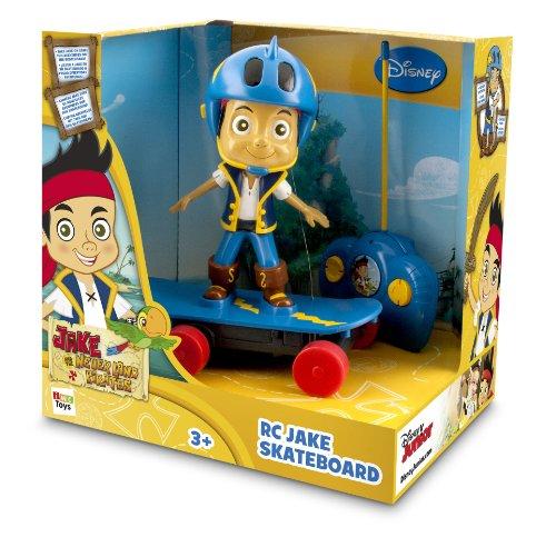 IMC Toys - 260115 - Peluche - Skate Radio Commandé Jack le Pirate