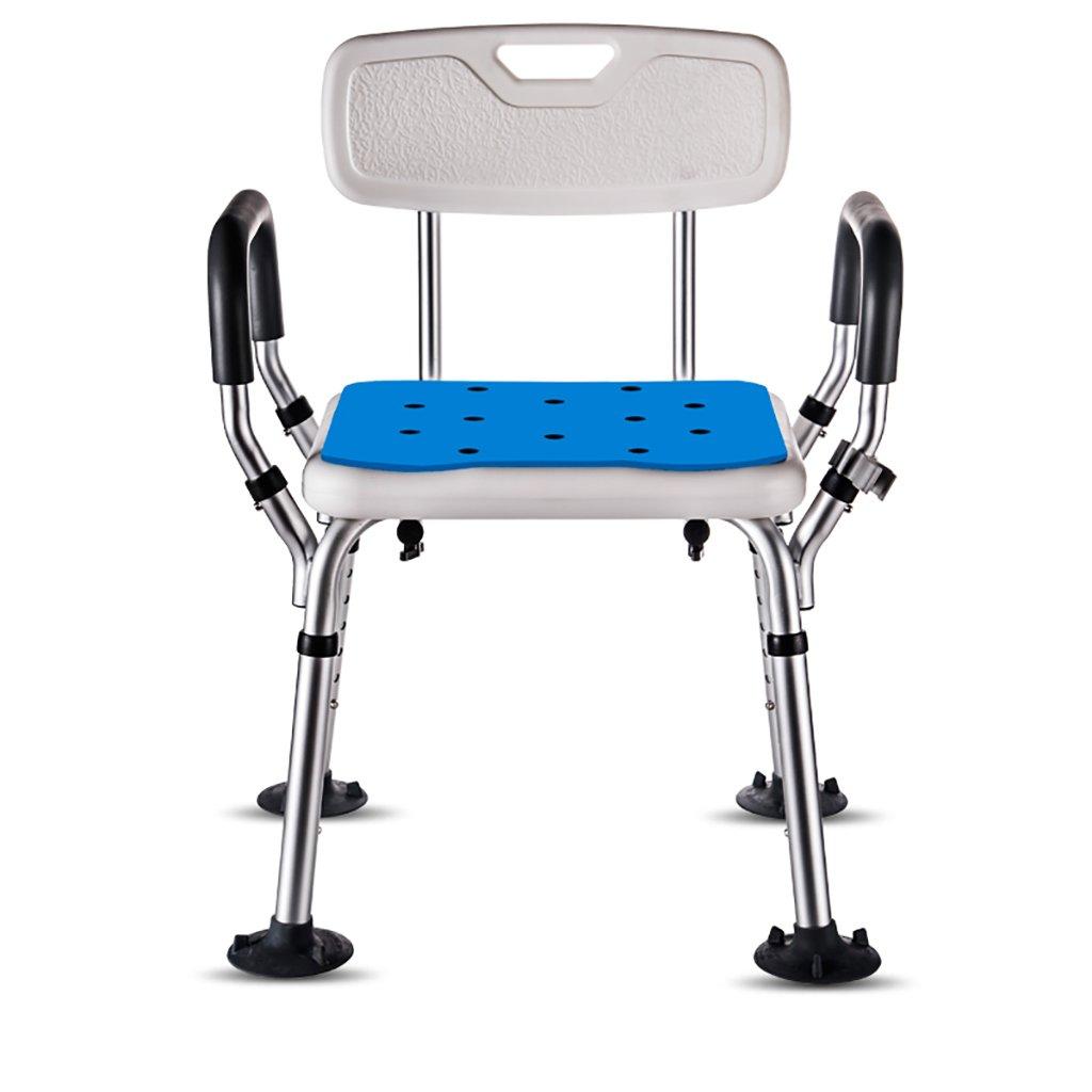 激安正規  シャワースツール\シャワーチェア バスルームスツールアルミシャワーチェア障害援助ノンスリップバスチェア、高齢者、身体障害者、妊婦、高さ調節可能 B07DXNFRLZ バスシートベンチ\バススツール B07DXNFRLZ, JYP:2233075b --- by.specpricep.ru