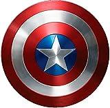 Gertmenian Gertmenian & Sons Marvel Captain America Shield Digital Printed Jumbo Size Kids' Bedding Area Rug, 54'' x 78'', Multicolor