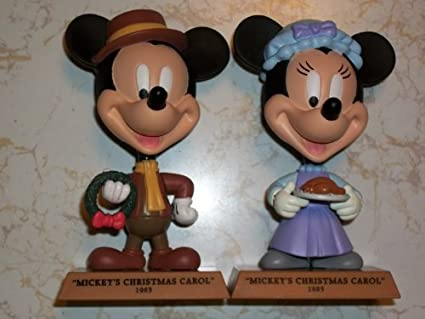 Mickeys Christmas Carol Minnie.Amazon Com Disney Holiday Treasures Upper Deck 2004