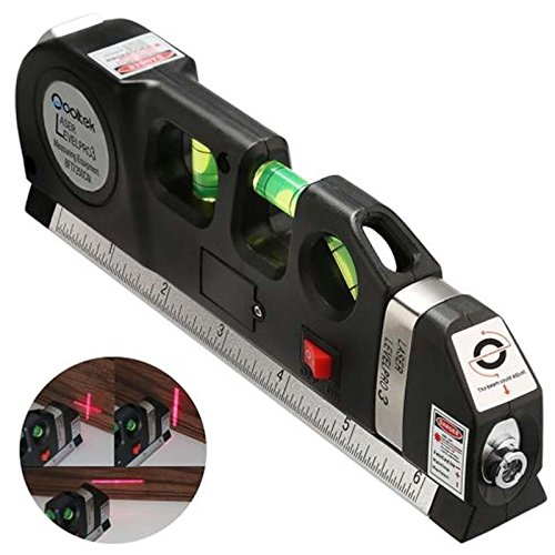 2017 new style Multipurpose Laser Level laser measure Line 8ft+ Measure Tape Ruler Adjusted Standard and Metric Rulers ship from US by CxYuan by CxYuan (Image #6)
