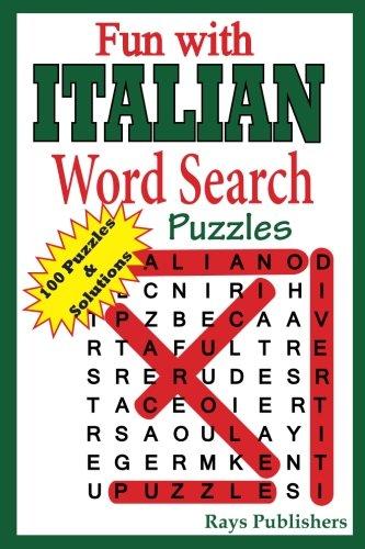 Fun with Italian - Word Search Puzzles (Volume 1) (Italian Edition) ()