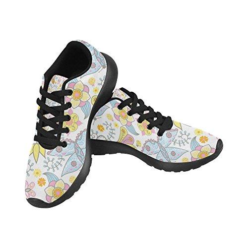 InterestPrint Womens Road Running Shoes Jogging Lightweight Sports Walking Athletic Sneakers 61unI0HhW