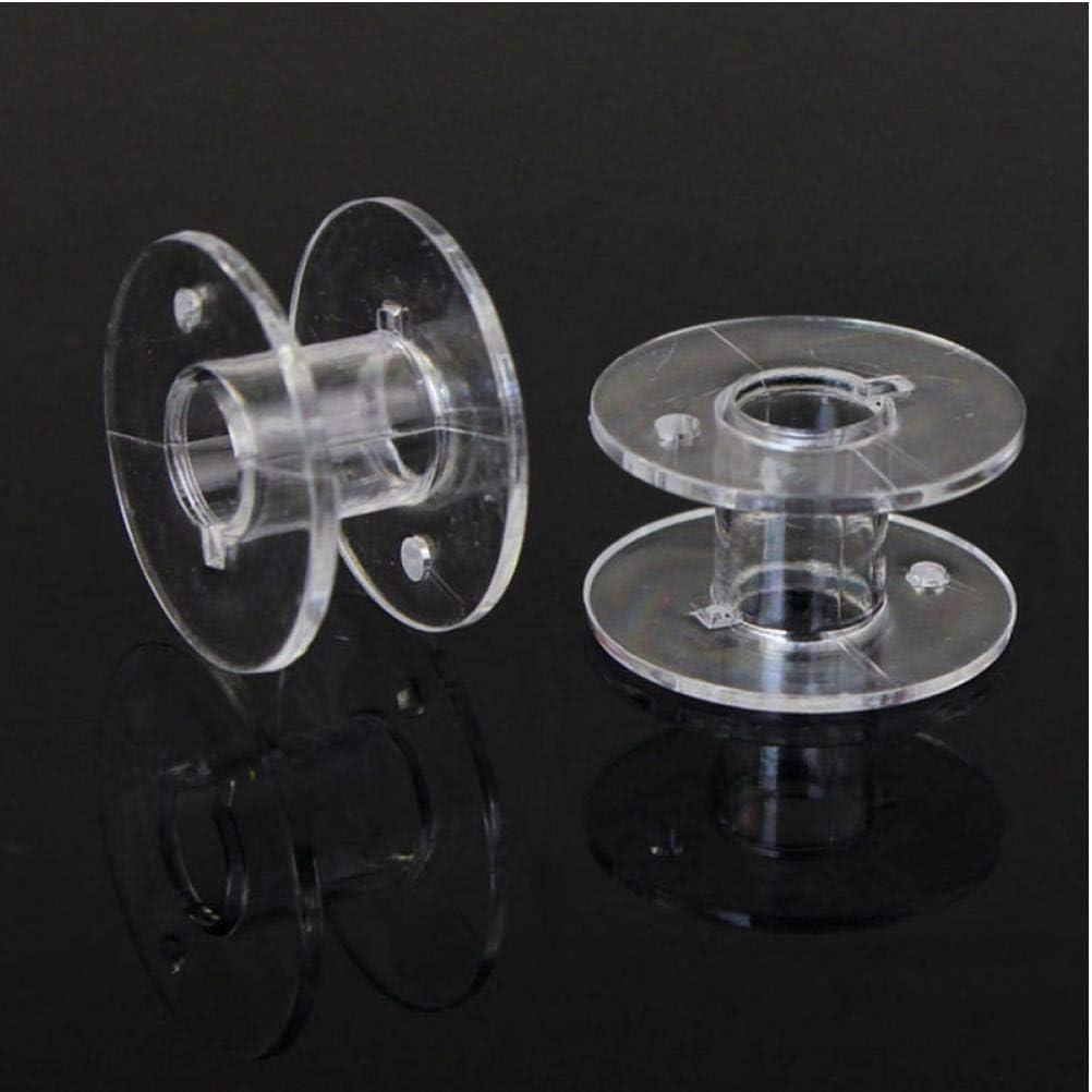 Universal De Pl/ástico Transparente Carrete De Hilo Para M/áquina De Coser